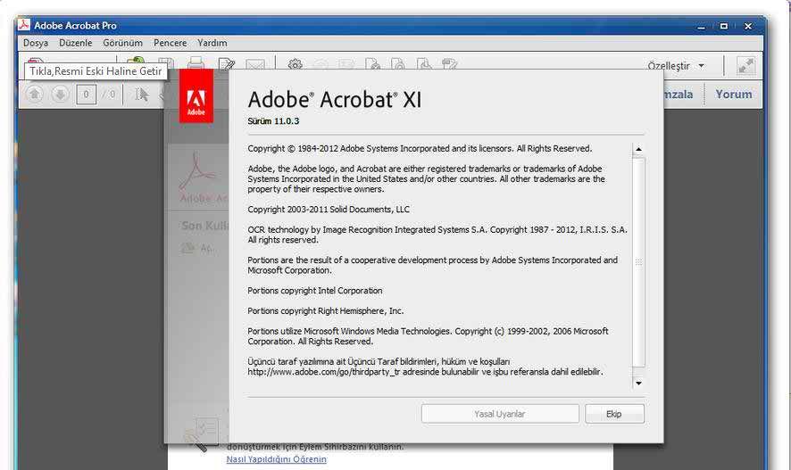 Crack For Adobe Acrobat Pro Xi