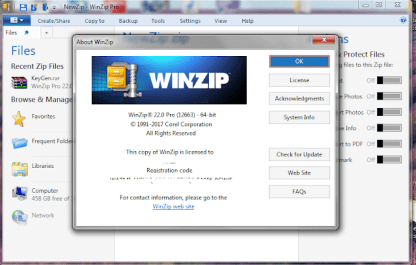WinZip Pro 24 Crack & License Keys Free Download 2020 {Latest}