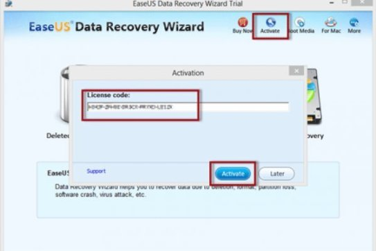 EaseUS Data Recovery Wizard License Key V13.2 (FREE) 2020