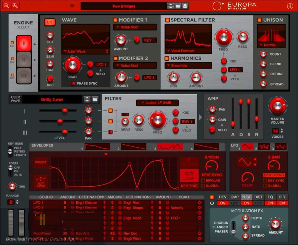 Propellerhead - Europa by Reason VST Free Download