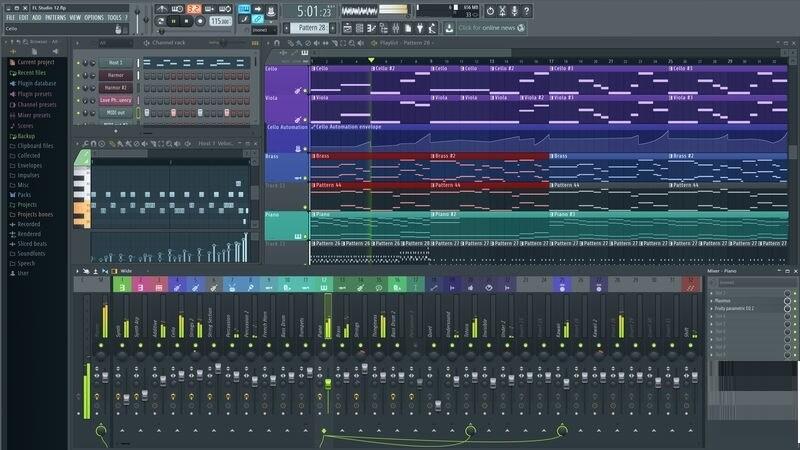 FL Studio 20.7.1.1773 Crack With Reg Key Full Version [2020]