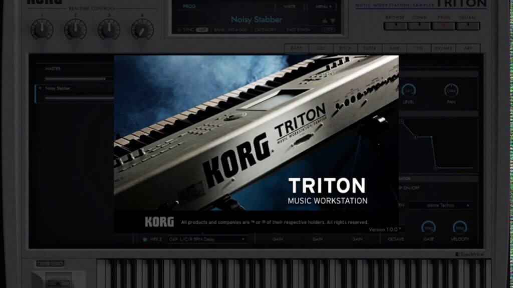 Korg Triton Crack 2.02 Vst Free Download for Windows Full Torrent