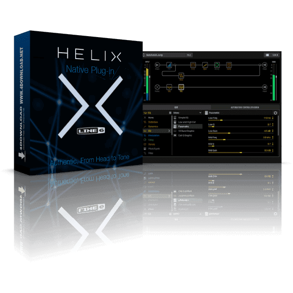 Line 6 updates Helix Native amp & effects modeling plugin to v1.01