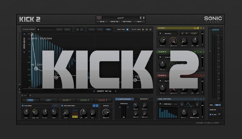 Sonic Academy Kick 2 (Win) - VST Crack