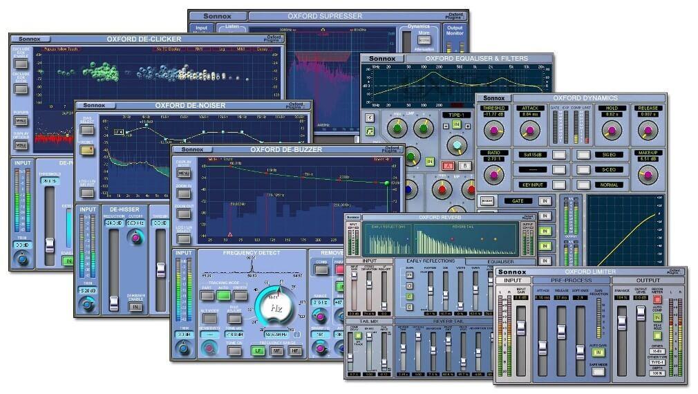 Sonnox Oxford Bundle (Mac) - VST Crack