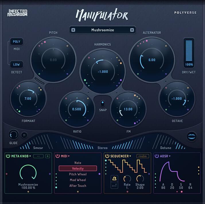 Polyverse Music Infected Mushroom Manipulator v1.0 Win & MacOSX - Vst