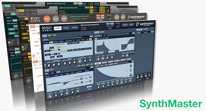 KV331 SynthMaster VST 2.9.8 Crack + Torrent (Win+Mac)
