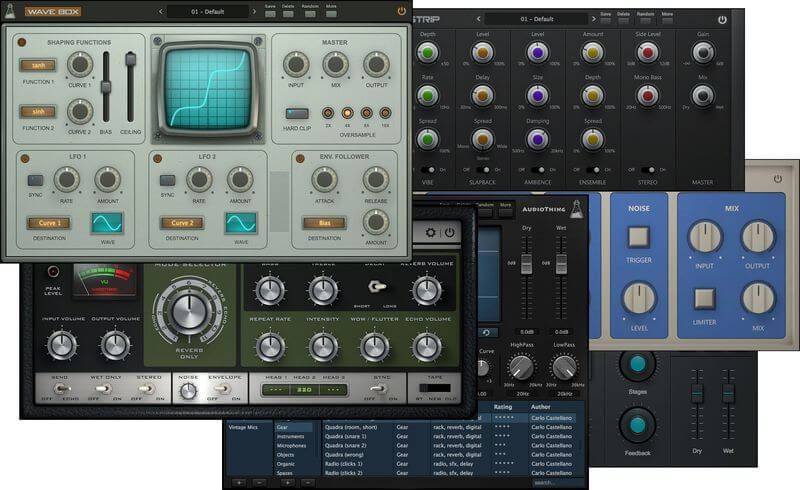 AudioThing Effect Bundle 2019 (Win) - VST Crack