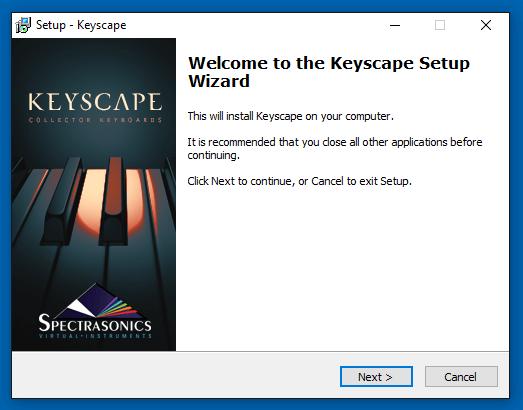 Download (Win) - Keyscape - 1.1