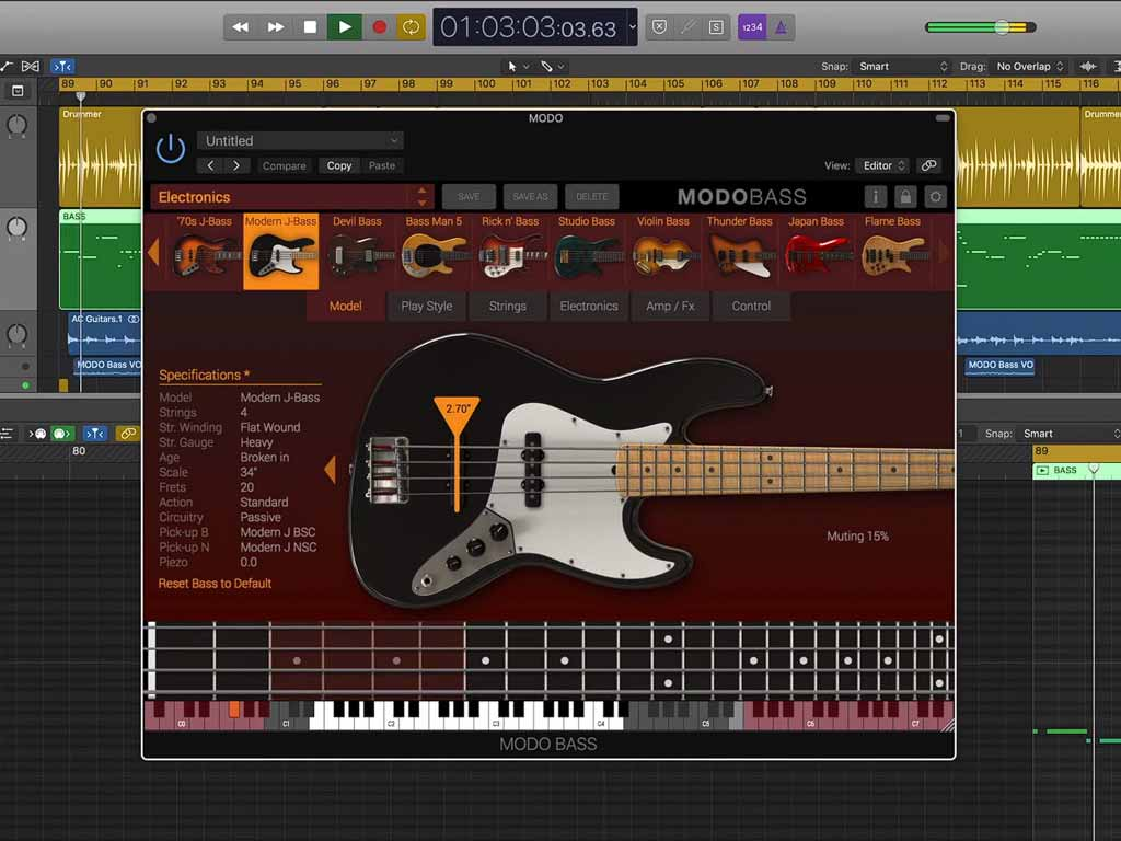 IK Multimedia MODO BASS v1.5.2 (Win & Mac) | Plugin Crack