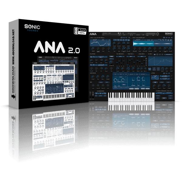 Sonic Academy ANA 2 Slate Bundle v2.0.94 Full version