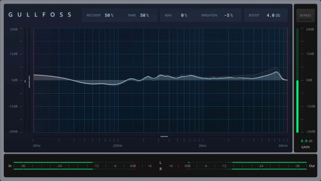 Soundtheory updates Gullfoss equalizer plugin to v1.2.0