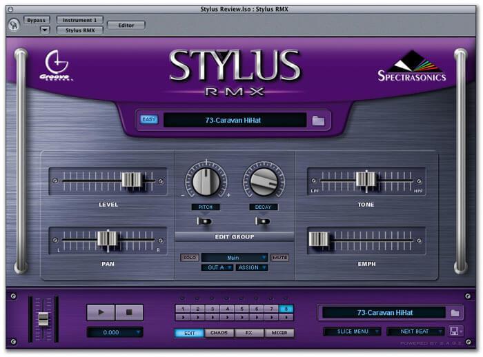 Stylus RMX by Spectrasonics