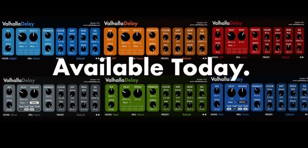 ValhallaDSP - ValhallaDelay VST Free Download