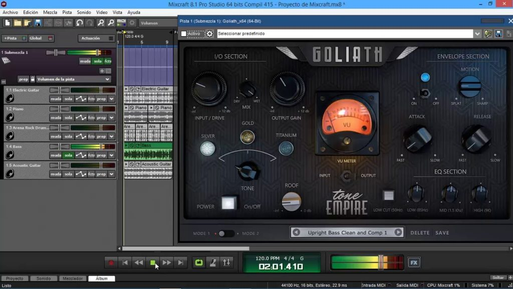 goliath vst test and download 64 bits - YouTube