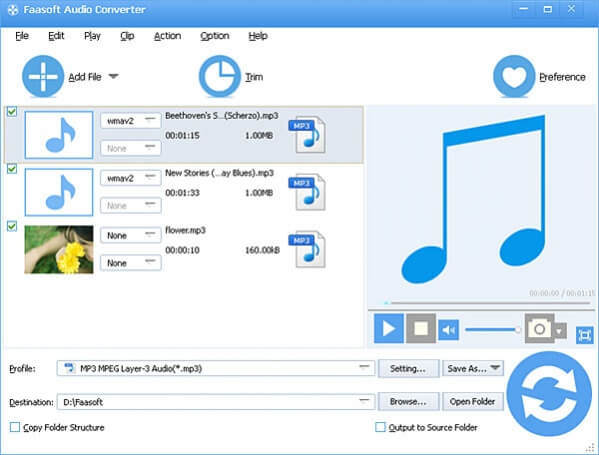 Faasoft Audio Converter 5.4.23.6956 Free Download