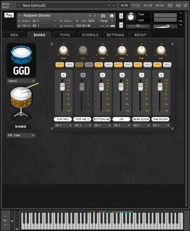 GetGood Drums Matt Halpern Signature Pack 2 Drum Library