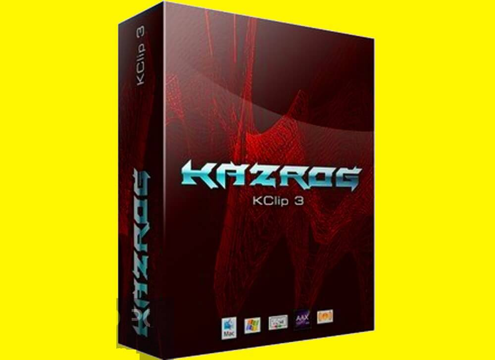 Kazrog - KClip VST Free Download