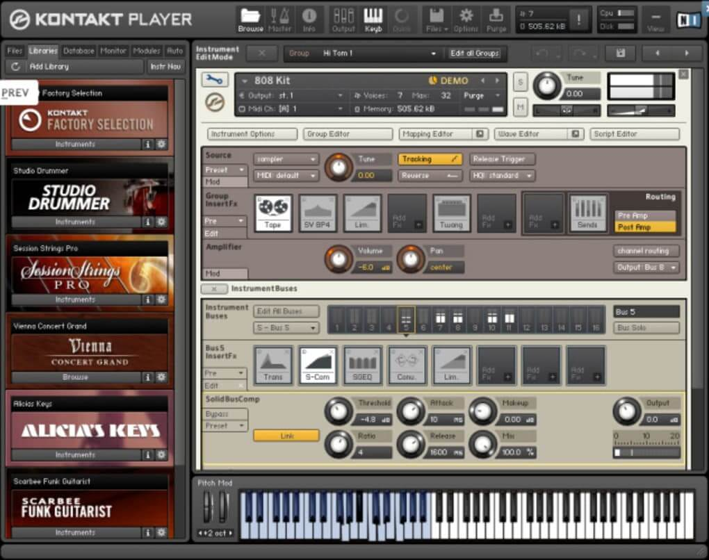 Kontakt 5 Player - Download