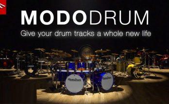 IK Multimedia - MODO DRUM VST Free Download