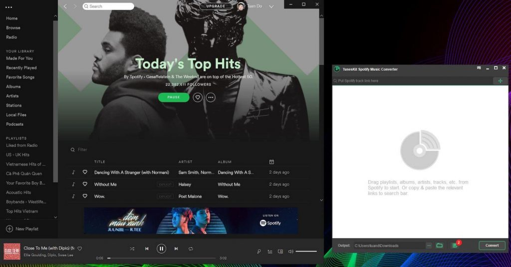 Tuneskit Spotify Music Converter Review - Download Spotify Songs for Free