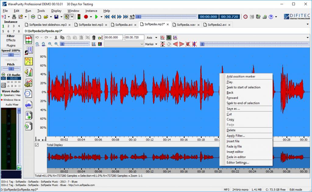 Download WavePurity Professional 7.98