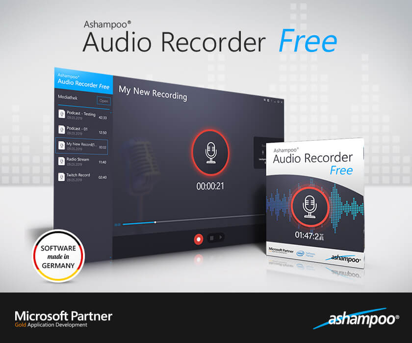 Ashampoo Audio Recorder crack