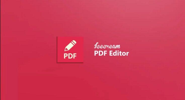 Icecream PDF Editor Pro