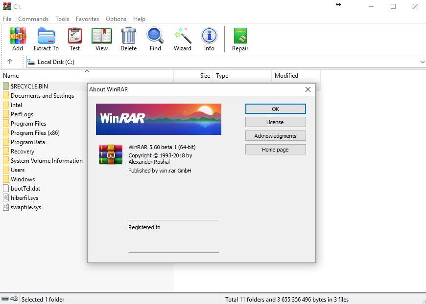 WinRAR 6.0 Final