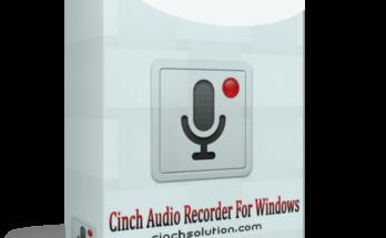 Cinch Audio Recorder Crack