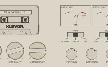 DAW Cassette VST Crack v1.0.0 Klevgr Plugin 2021 Free Download