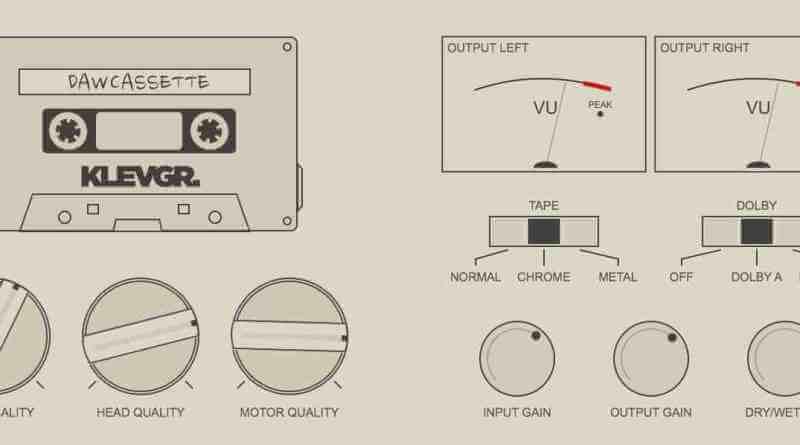 DAW Cassette VST Crack v1.0.0 Klevgr Plugin 2021 Free Download