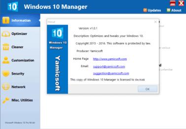 Windows 10 Manager Crack 3.4.3 + Serial Key Free Download