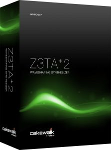 Z3TA+ 2 Crack Waveshaping Synthesis