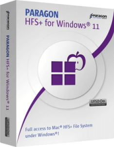 Paragon HFS+ for Windows Crack